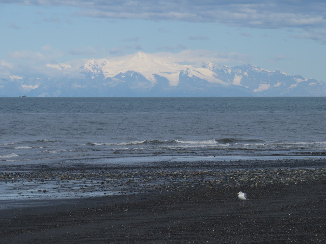 Volcanoes across the bay
