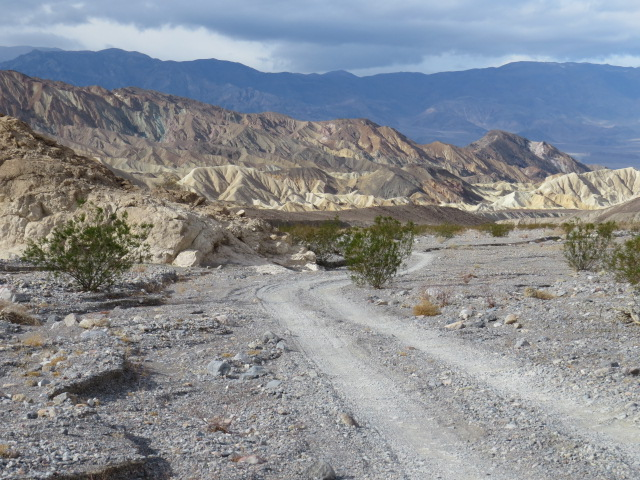 Snapshots of Death Valley