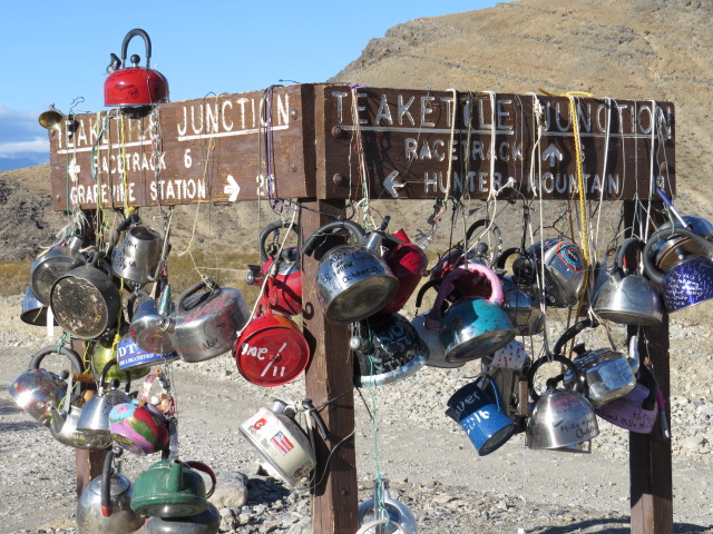 Teakettle Junction enroute to the Racetrack