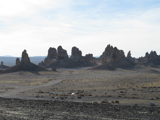 "Trona Pinnacles - filming location of ""Planet of the Apes"""