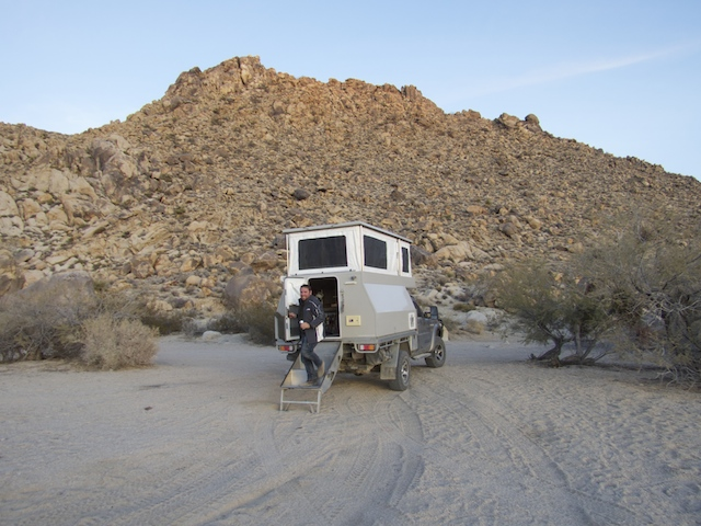 Wildcamping in Mojave