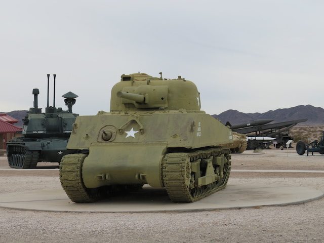 Yuma Proving Grounds Display