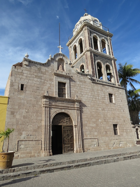 Loreto's Historic Mission built in 1697