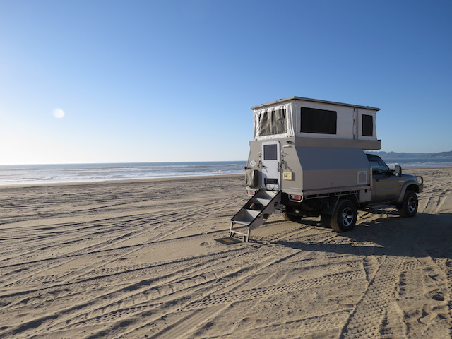 Camped at Oceano Dunes