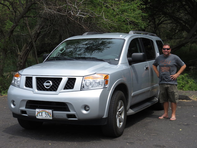 The Nissan Armada