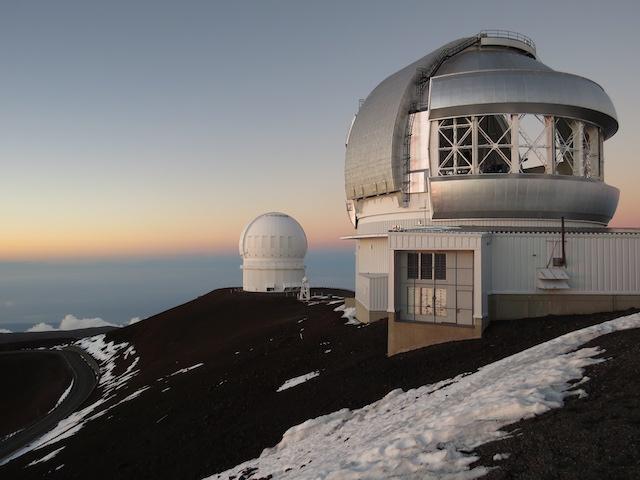 Atop Mauna Kea