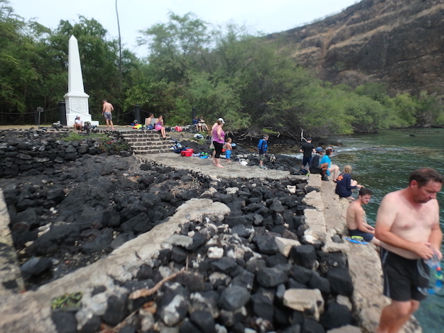 Kealakekua Bay and the Captain Cook Monument
