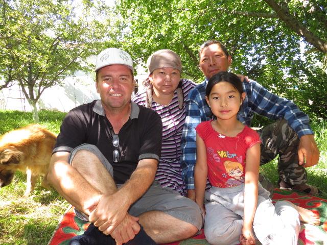 Kyrgyz Family Visit