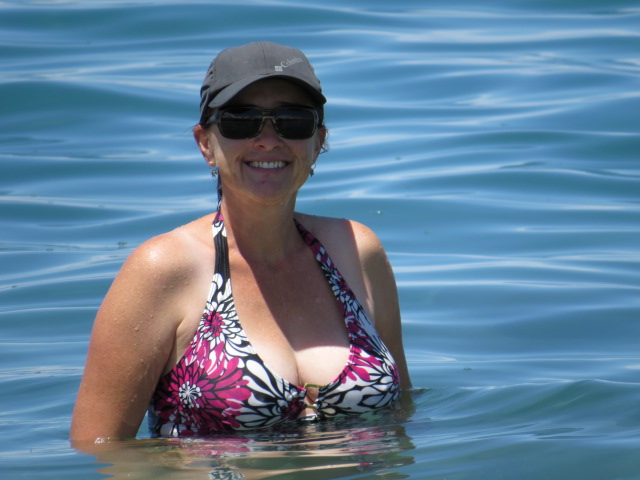Jen Swimming!