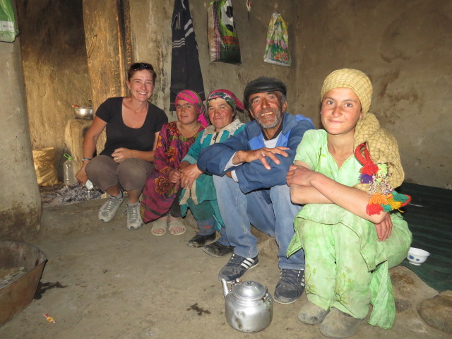 Tajik Family Visit