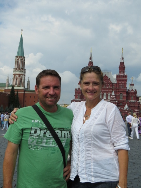Us in Red Square!