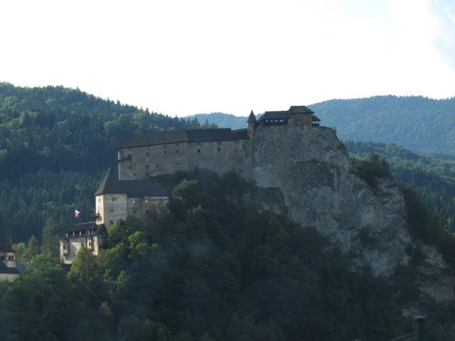 Orava Castle enroute to Terry's