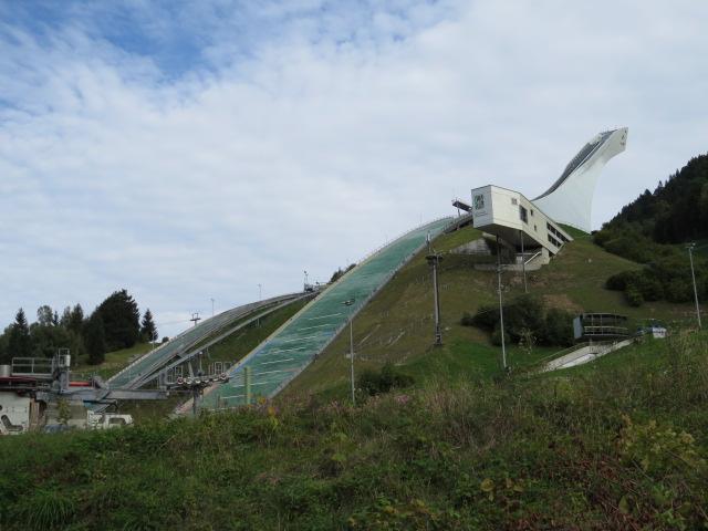 Olympic Ski Ramp