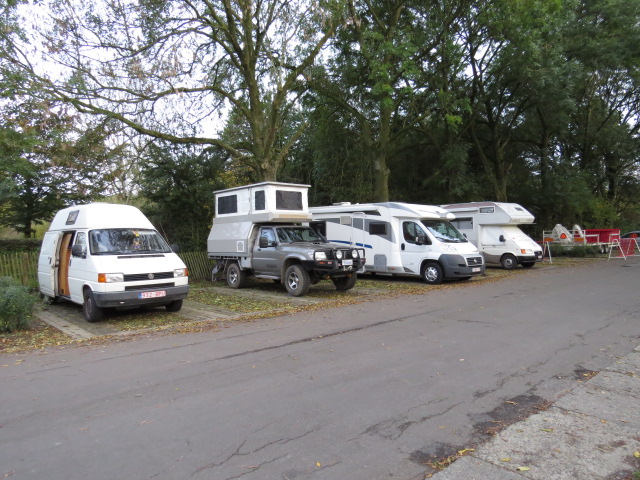 Street Camping