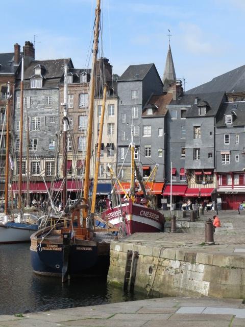 Stunning town of Honfleur