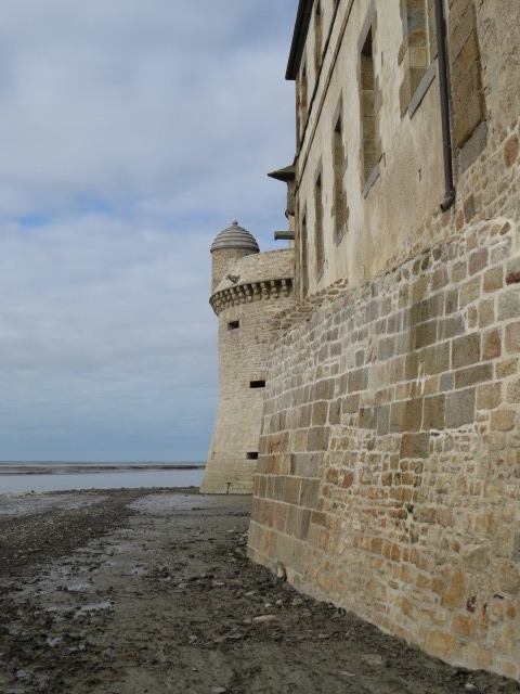 Mont St Michel Fortifictions