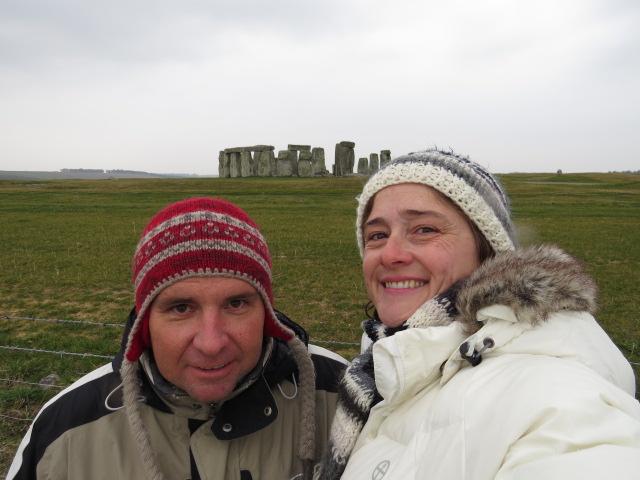 Stonehenge Selfie!