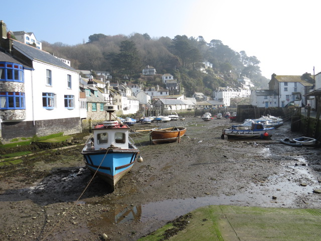Polperro Low Tide