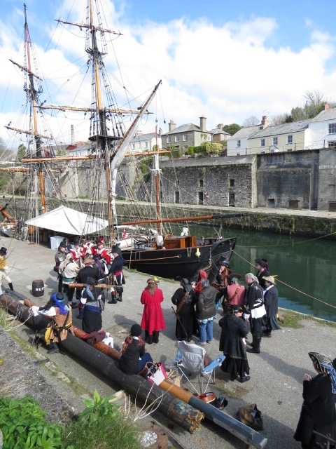 "Charlestown where the ""Onedin Line"" was filmed"