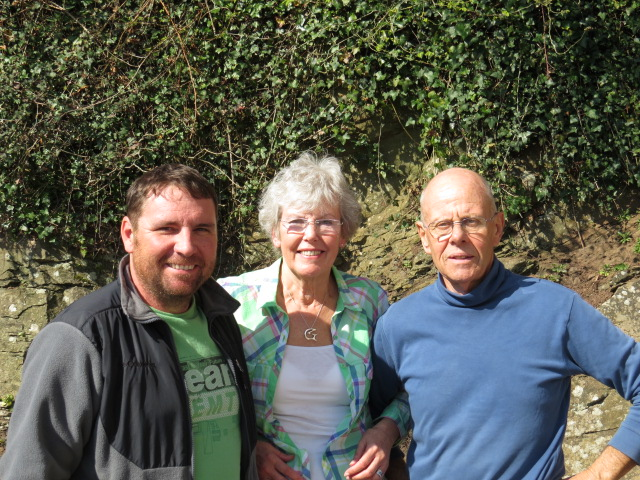 Peter, Gill and Justin