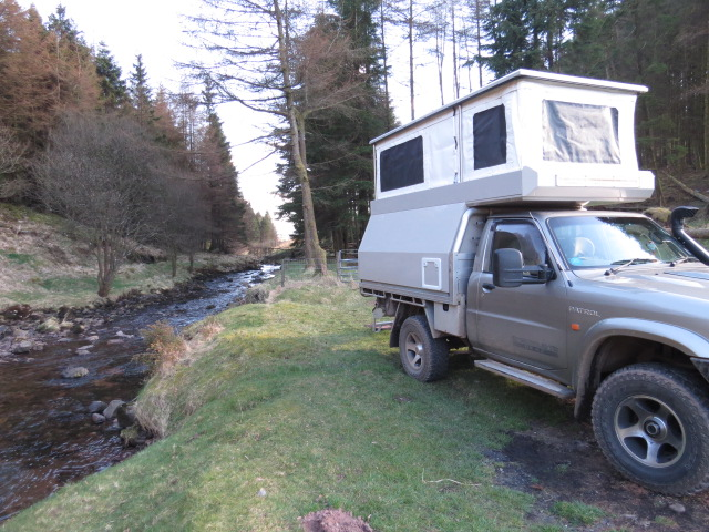Wild camping at it's best!