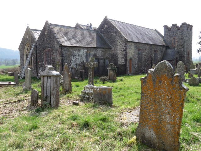 St Egwads Church in LLanegwad
