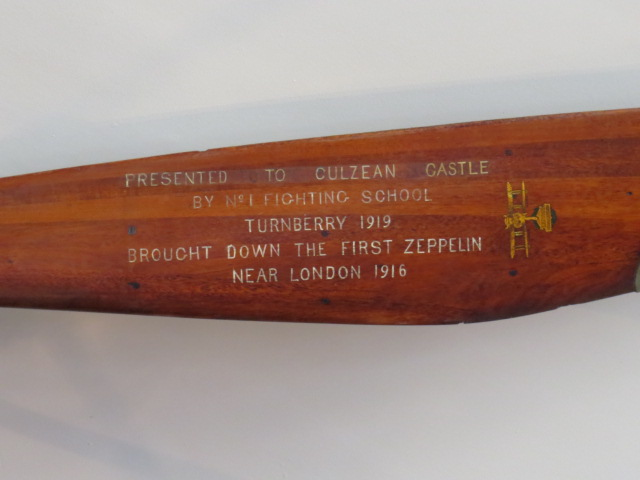 Inscription from propellor in previous picture