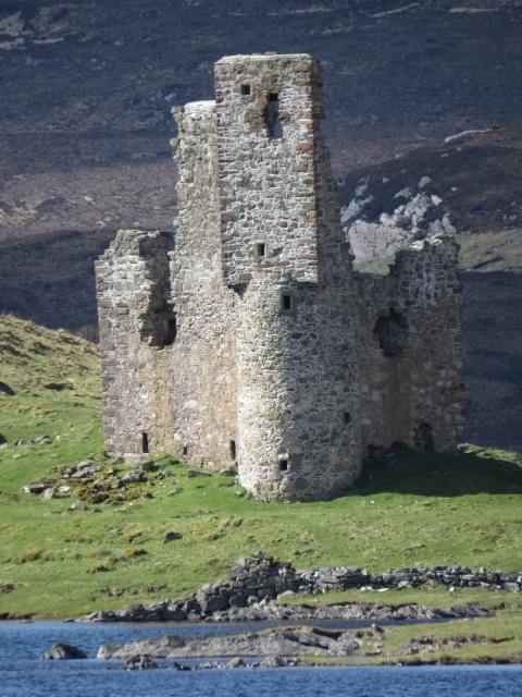Ardvreck Castle Ruins