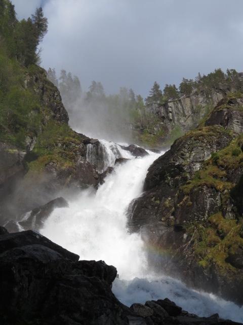 Powerful waterfalls