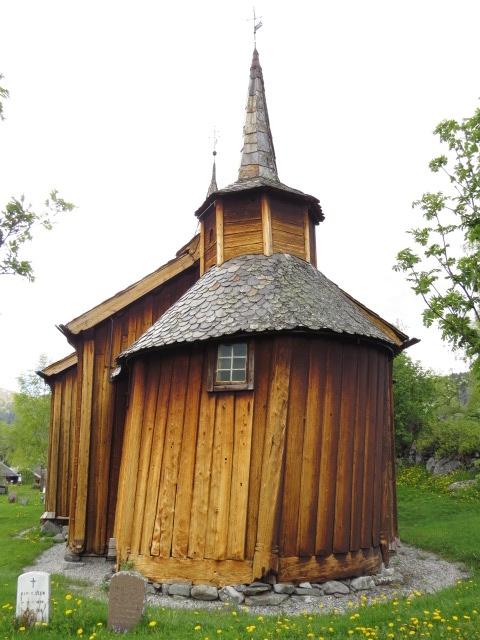 Old Church in Hov