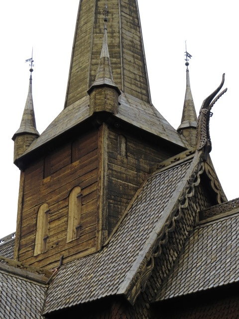 Old Timber Church in Lom