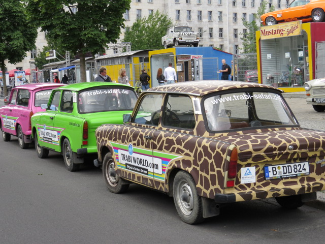 The famous East German Car for the people - the Trabant