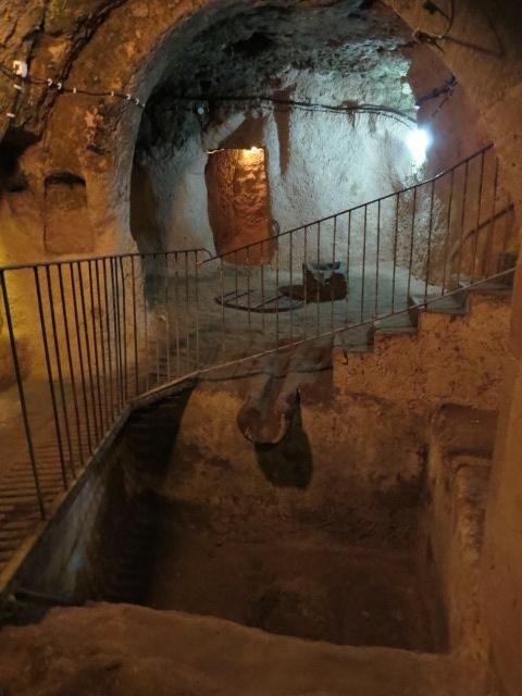 Underground Cities - Kaymakli and Derinkuyu