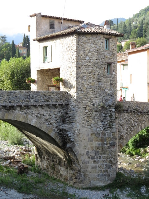 Historic Bridge in Sospel