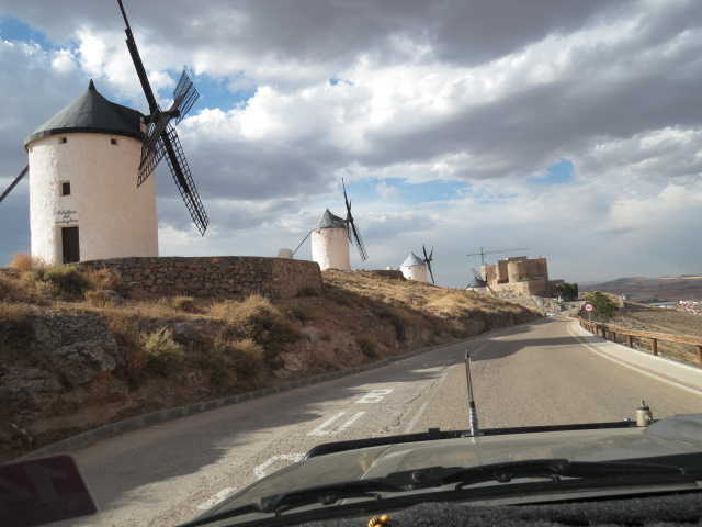 Castles and windmills in Spain