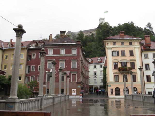 Ljubljana in the rain