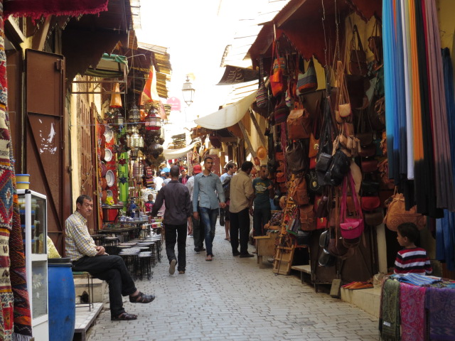 The Souk in Fes