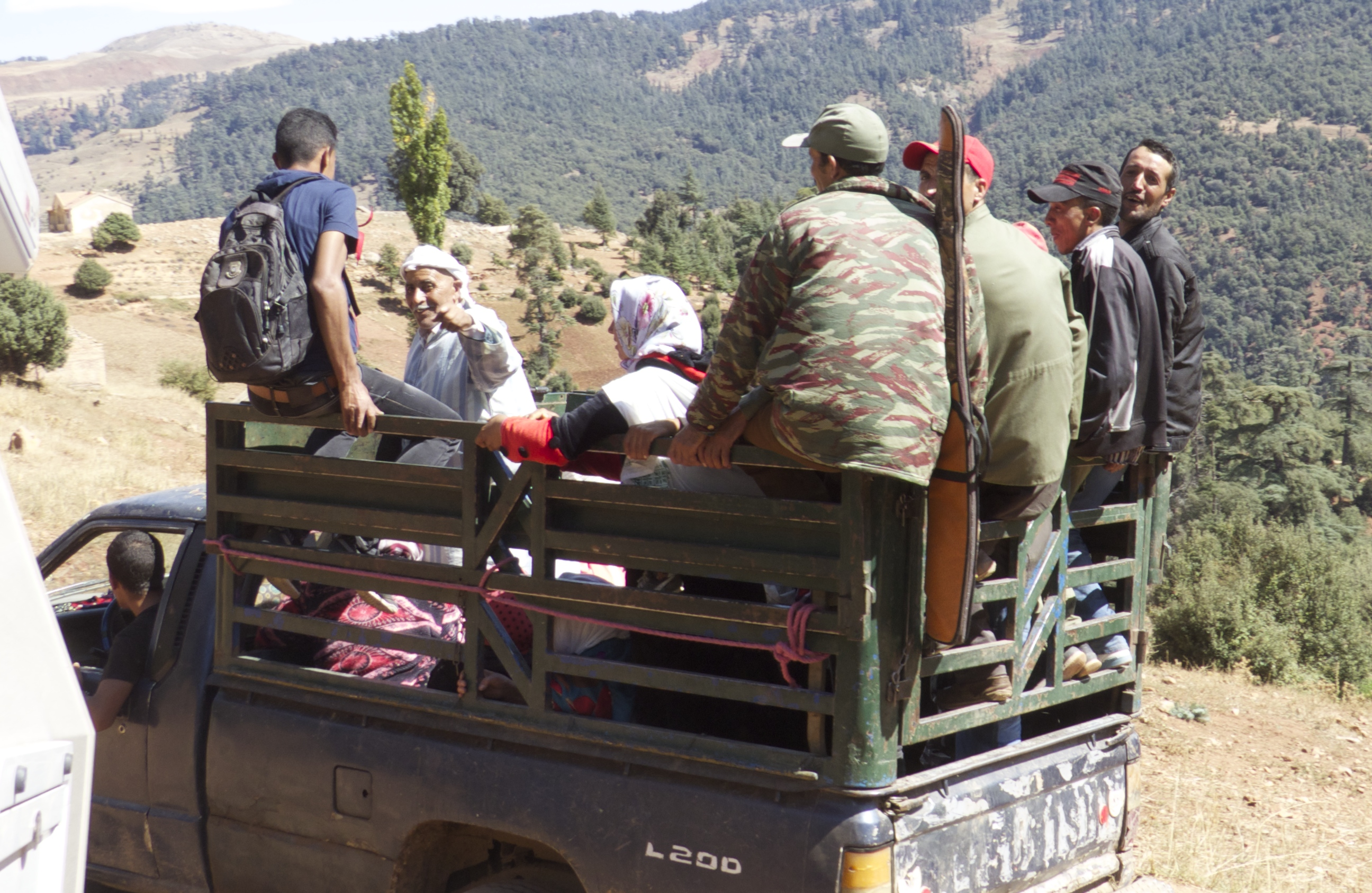 Not sure why they needed the rifle!!!