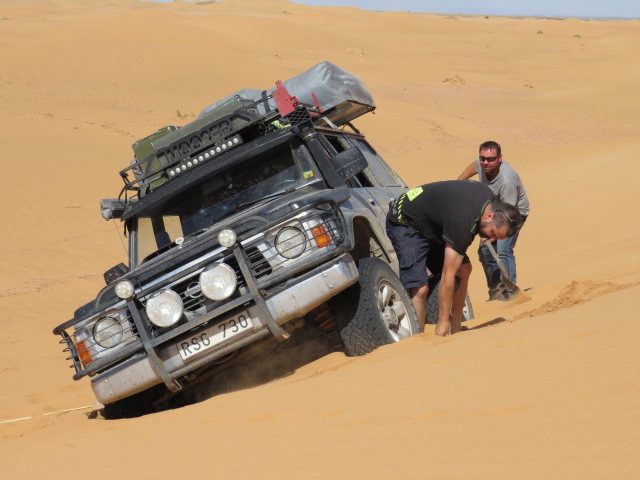 Fredrik got a bit excited!