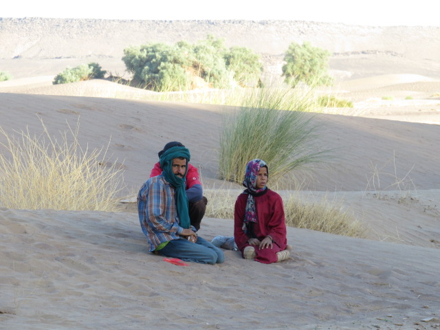 "Nomad Family watching ""Neighbours"""