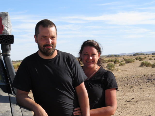 Fredrik and Cathrin