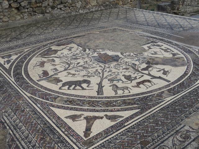 Intricate Roman Mosaics