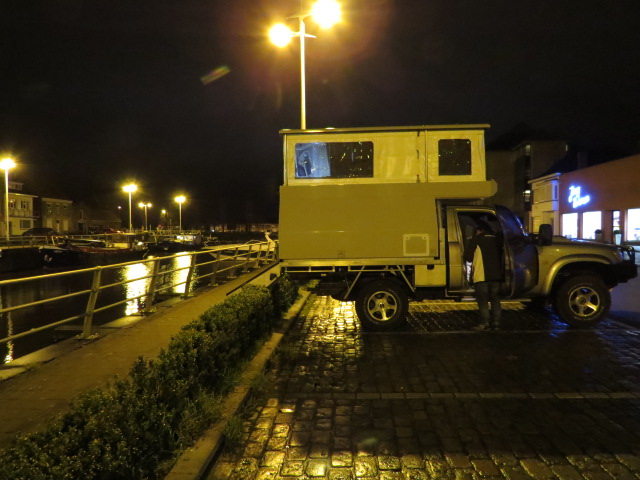Overnight stop in Veurne