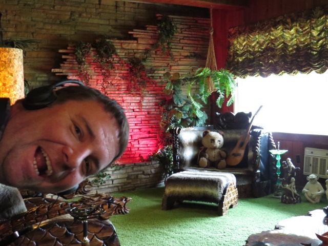 Justin in The Jungle Room