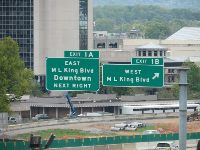 Seems every city has a Martin Luther King Blvd and Chattanooga was no exception