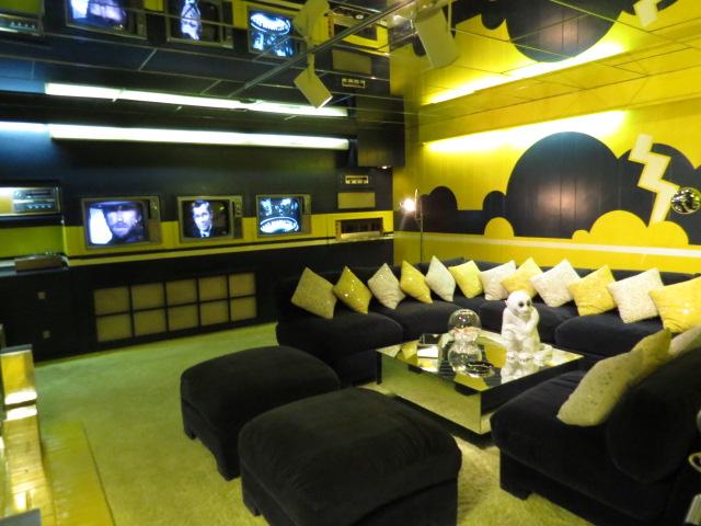 TV Room-note 3 TV's
