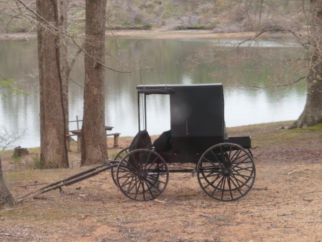 The Amish wagon