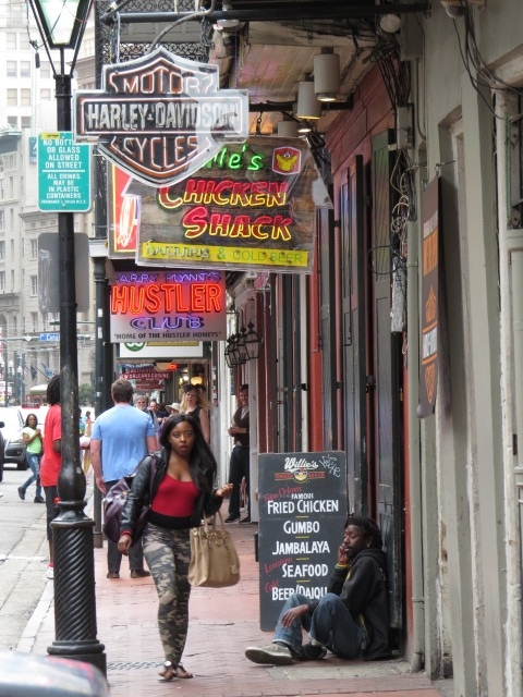 The Grunge that is Bourbon Street