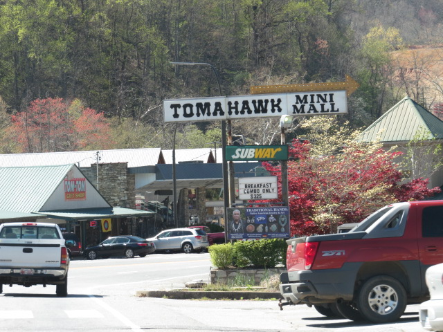 The town of Cherokee