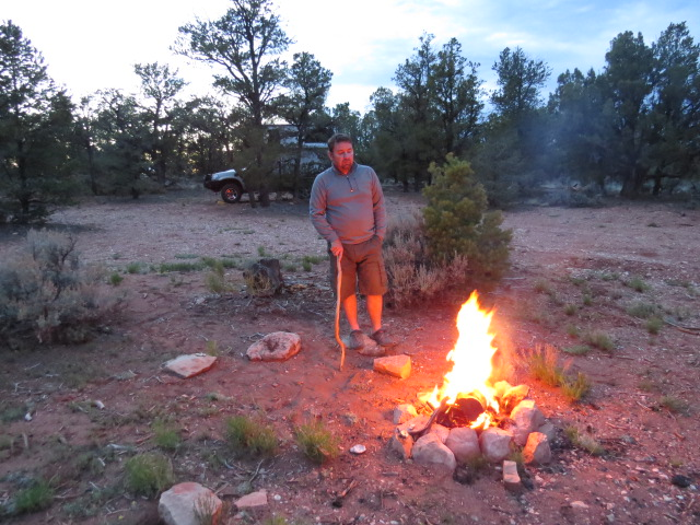 Kaibab National Forest Camp